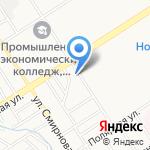 Весовщик на карте Барнаула