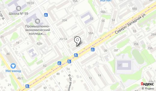Мария-Ра. Схема проезда в Барнауле