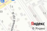 Схема проезда до компании Весовщик в Барнауле