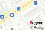 Схема проезда до компании Патриот в Барнауле