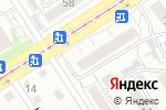 Схема проезда до компании А в Барнауле