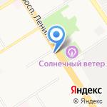 Инструмент-Центр на карте Барнаула