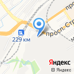 Результат на карте Барнаула