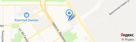 Арт & шок на карте Барнаула