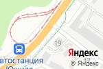 Схема проезда до компании Семь Кубов в Барнауле