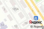 Схема проезда до компании Сибирский жар в Барнауле