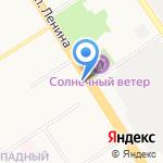 Желанная моя на карте Барнаула