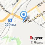 Сибирь Колесо на карте Барнаула