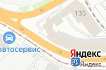 Схема проезда до компании Эксперт в Барнауле