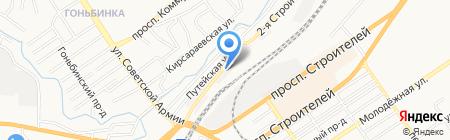 Семь Кубов на карте Барнаула