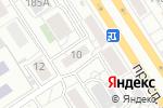 Схема проезда до компании Ризлит в Барнауле