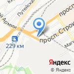 Алтайский институт госзакупок на карте Барнаула