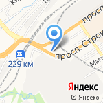 Сибирский тендерный центр на карте Барнаула