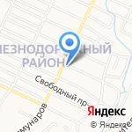 AST на карте Барнаула