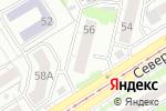 Схема проезда до компании Note di felicita в Барнауле