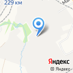 Еврокар на карте Барнаула