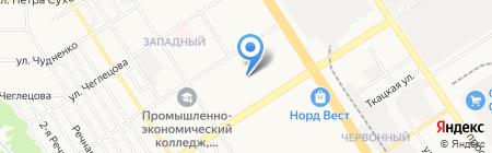 Hostel Арбуз на карте Барнаула