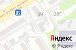 Схема проезда до компании Олимпия в Барнауле
