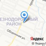 Sky express на карте Барнаула