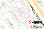 Схема проезда до компании ПИНГВИН в Барнауле
