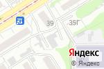 Схема проезда до компании Этуаль в Барнауле