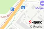 Схема проезда до компании Центральное ДСУ, ГУП в Барнауле