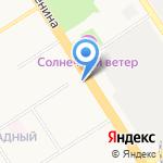 Совет ветеранов войны на карте Барнаула