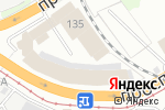 Схема проезда до компании Авто Спринт-Сервис в Барнауле