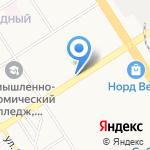 Пироман на карте Барнаула