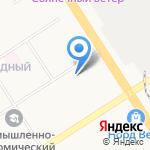 Средняя общеобразовательная школа №49 на карте Барнаула