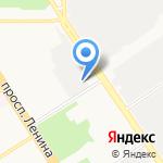 Алтай Velox на карте Барнаула