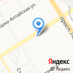 Экспорт-Алтай на карте Барнаула