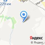 Сакура на карте Барнаула