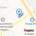 Сбербанк на карте Барнаула