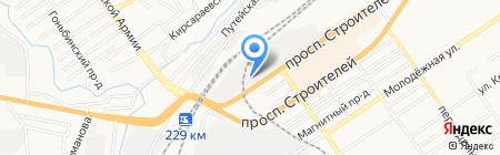 Вкусное питание на карте Барнаула