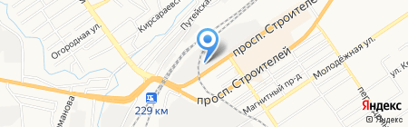 Интерьерная лавка на карте Барнаула