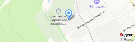 Для души на карте Барнаула