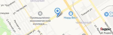 Оценка и Право на карте Барнаула