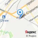 Анмар на карте Барнаула