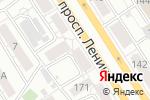 Схема проезда до компании Нотариус Тарасов А.Е. в Барнауле