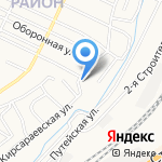 Эка на карте Барнаула