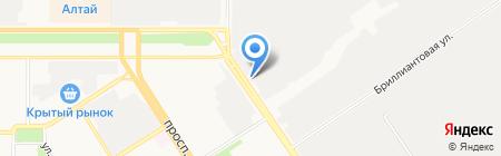 Автокомфорт на карте Барнаула