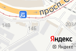 Схема проезда до компании Анмар в Барнауле