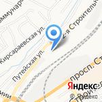 Седьмое небо на карте Барнаула
