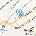 ЗНАК на карте Барнаула