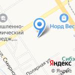 Информационные технологии на карте Барнаула