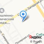 Федерация Таэквон-до ИТФ Алтайского края на карте Барнаула