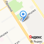 Барнаульская объединенная техническая школа ДОСААФ России на карте Барнаула