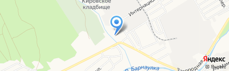 АлтайСнаб на карте Барнаула