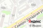 Схема проезда до компании Ландора в Барнауле